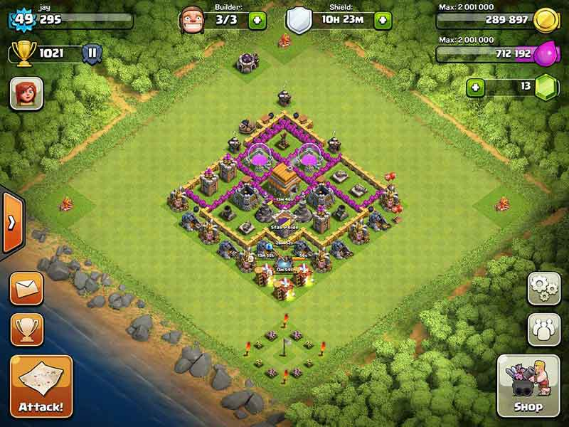 Best bases in clash of clans